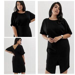 NWT ASOS Design Tall Wiggle Midi Dress